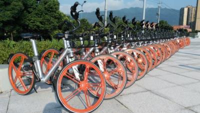 共享单车入驻天全 方便出行绿色低碳